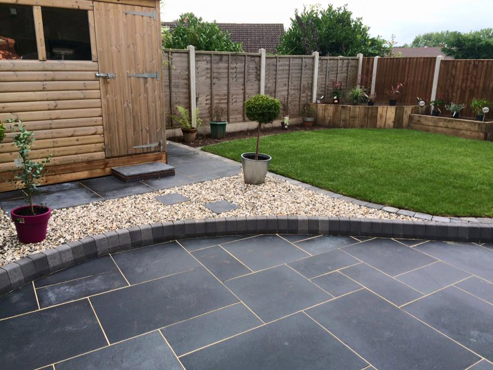 Garden Landscaping Project Hagley