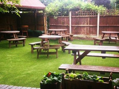 Plough & Harrow Pub Beer Garden, Stourbridge