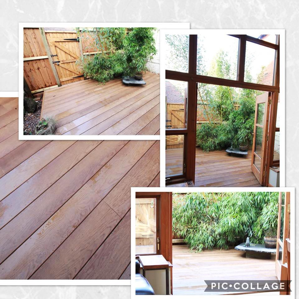 Why don't we need to use timber decking any more?
