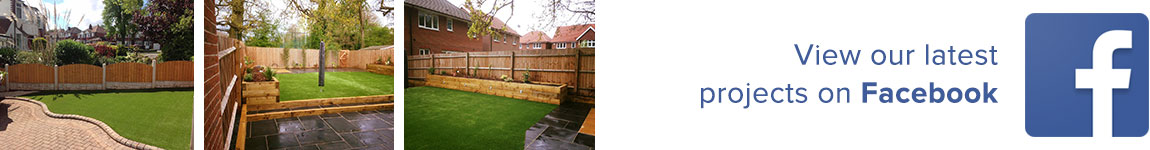 View our latest projects on Facebook