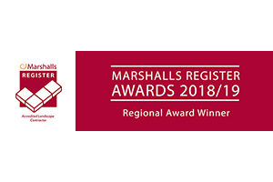 Marshalls Regional Award Winning Landscape Contractor