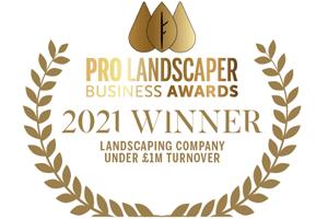 Pro Landscaper Business Awards Winner 2021
