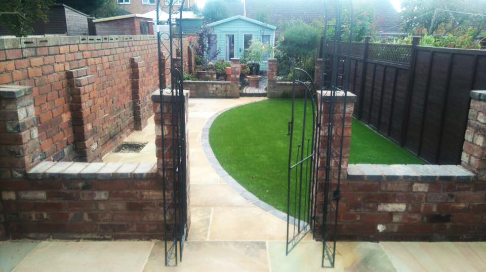 Landscaped Garden in Kingswinford