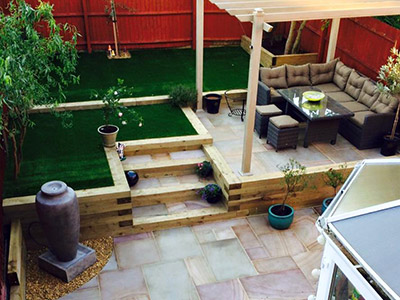 Garden Renovation in Redditch