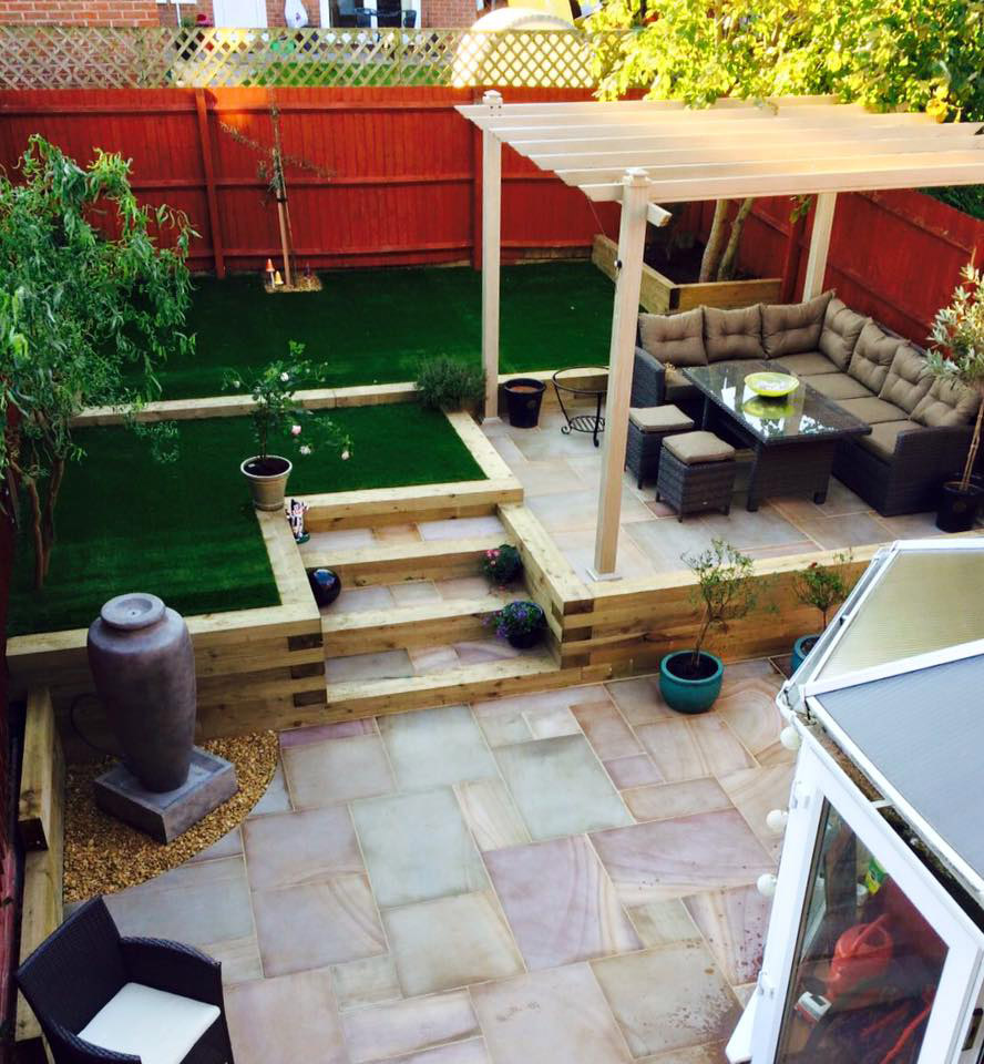 Completed Garden Renovation in Redditch