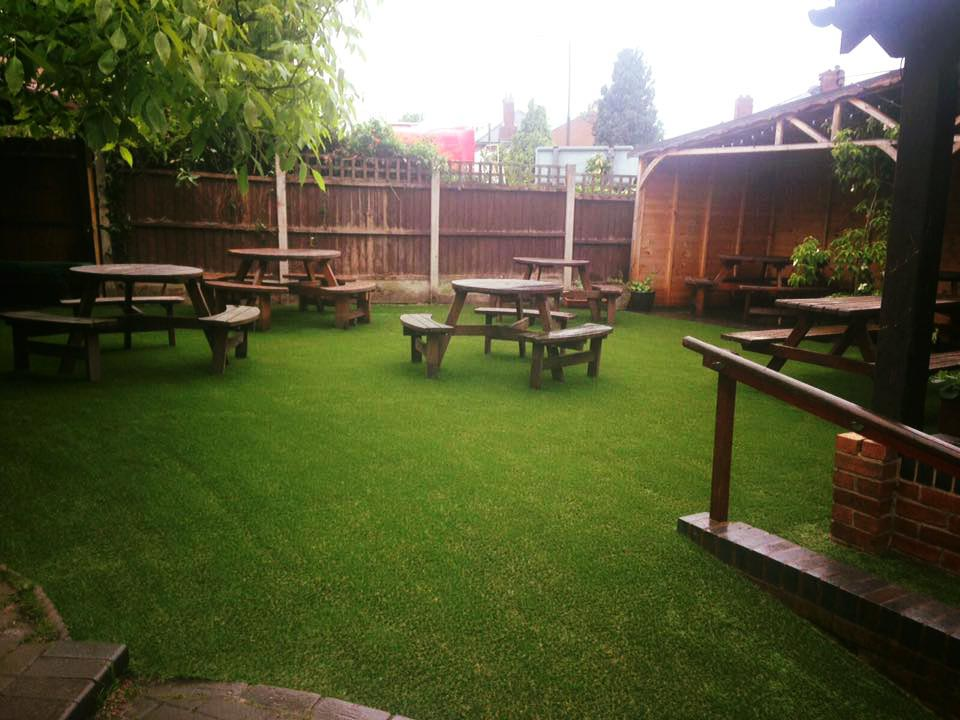 Plough & Harrow Beer Garden, Stourbridge