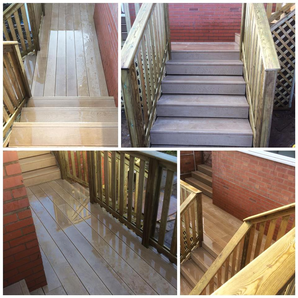 Here's our latest Millboard composite decking installation!