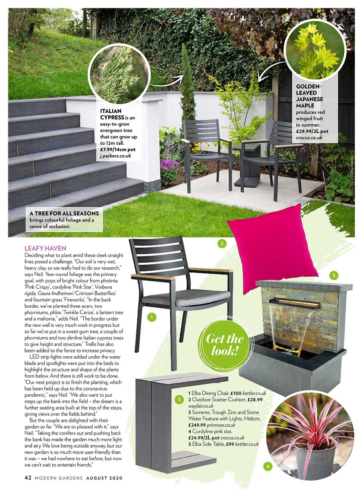 Landscapia Featured in Modern Gardens Magazine!