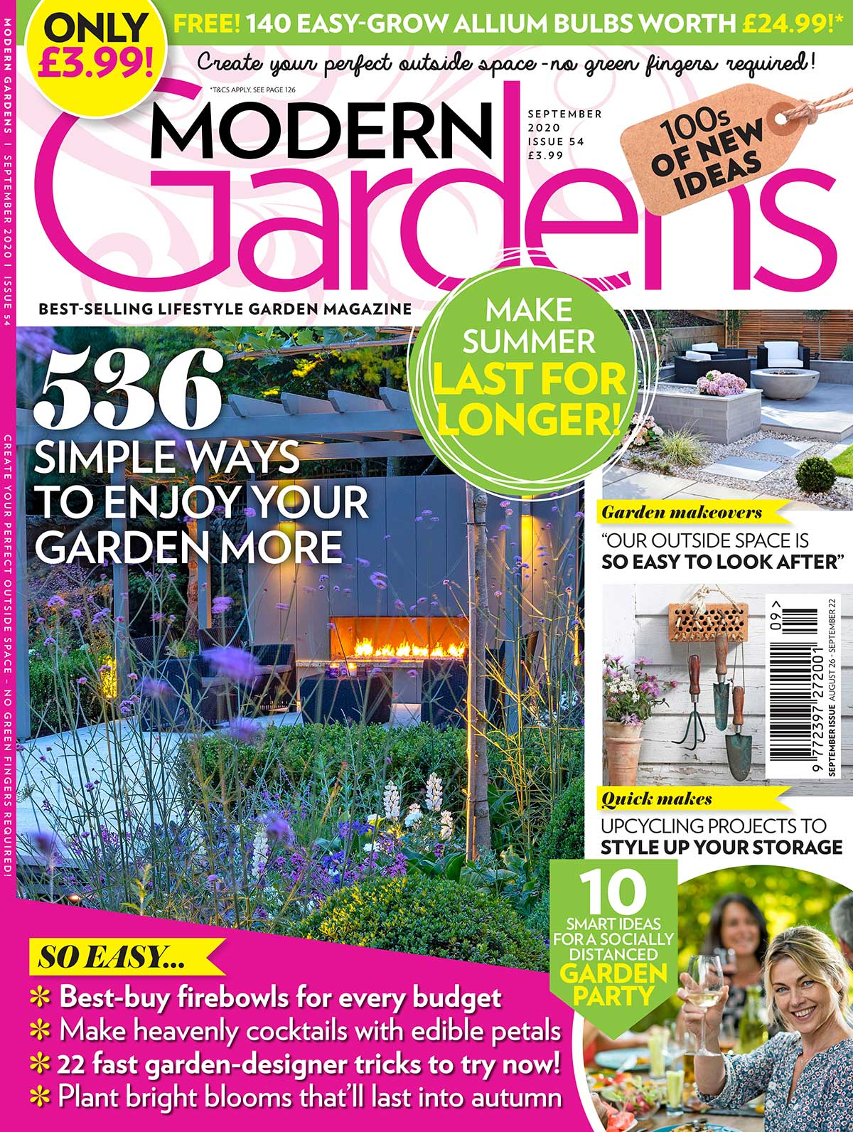 Landscapia Featured in Modern Gardens Magazine September 2020