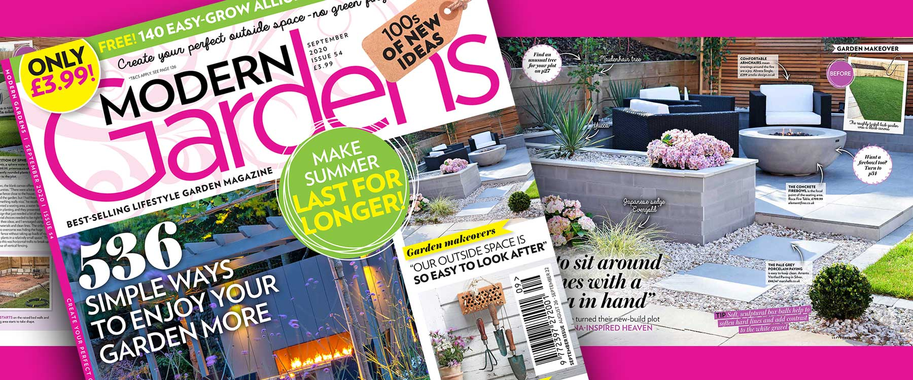As Featured in Modern Gardens Magazine!