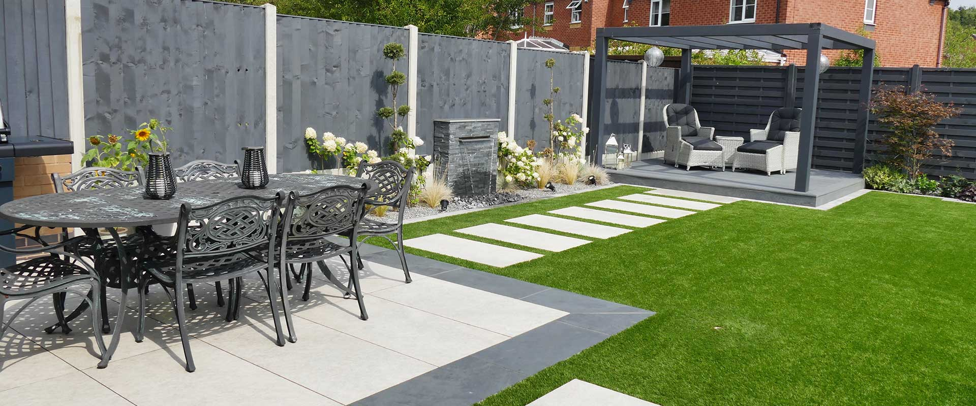 Contemporary Garden Landscaping Project