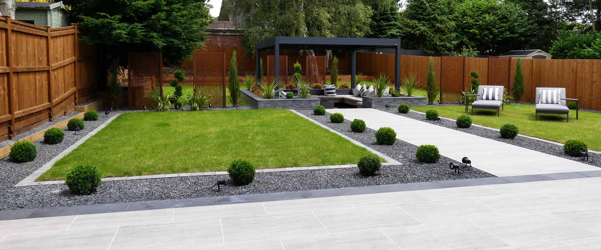 Modern Edwardian Landscaping Project